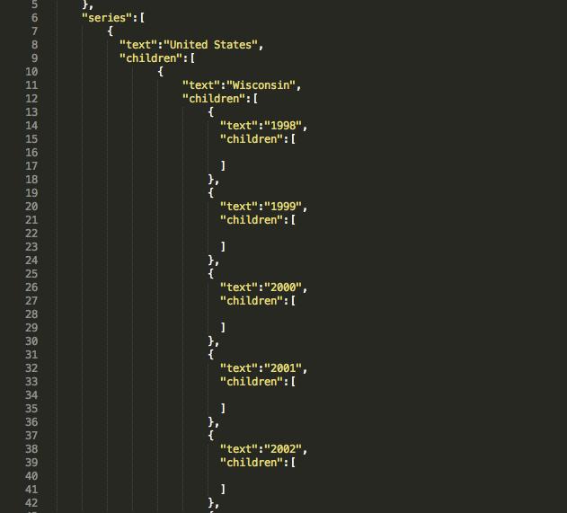 data arrays