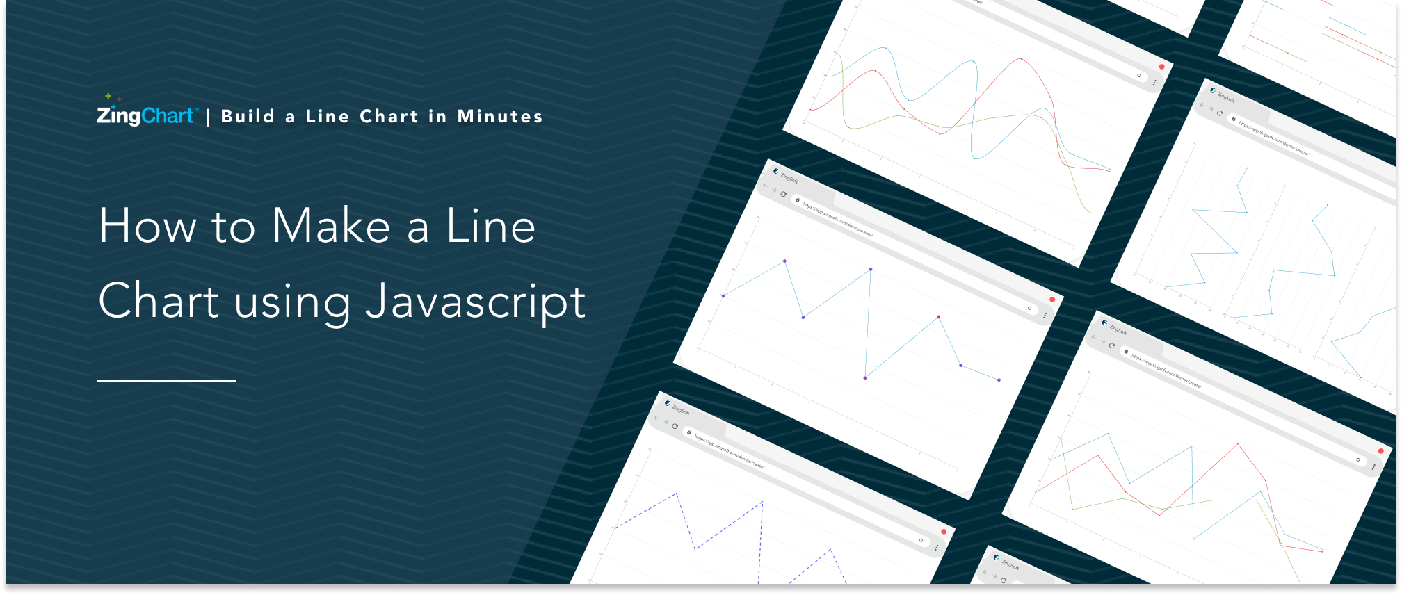 Cover image for 'How to Make a Line Chart Using JavaScript' blog post