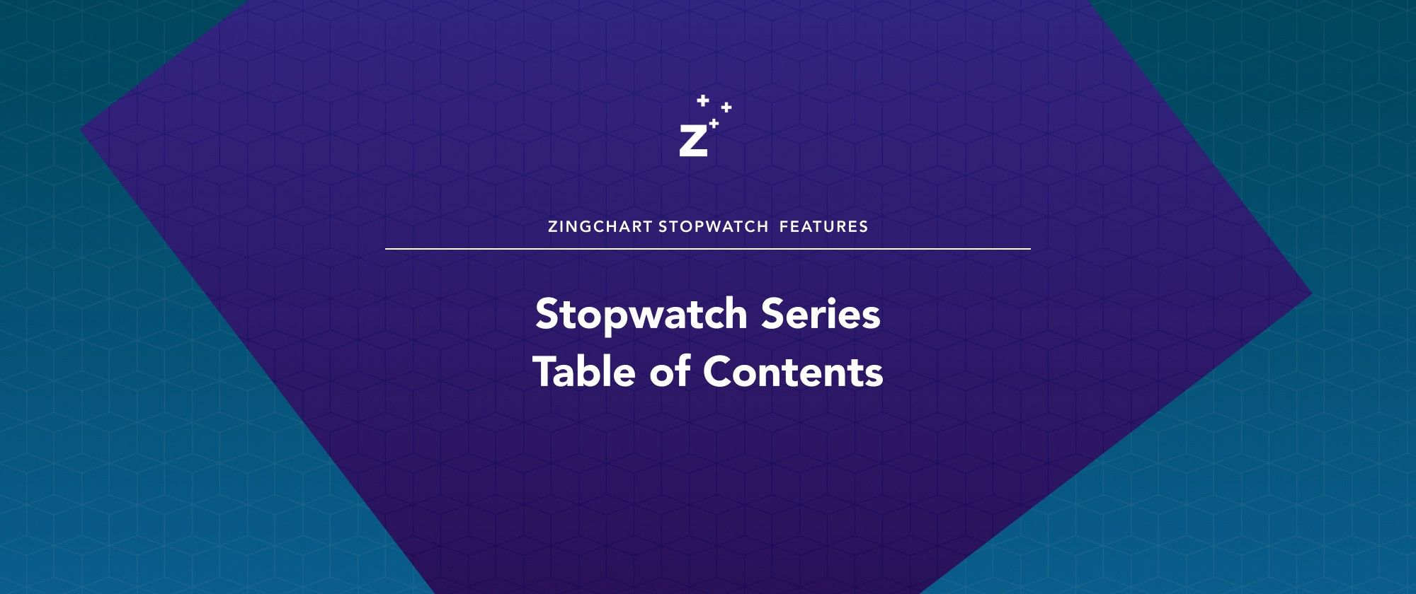 """Cover image for """"Stopwatch Series Table of Contents"""" blog post"""