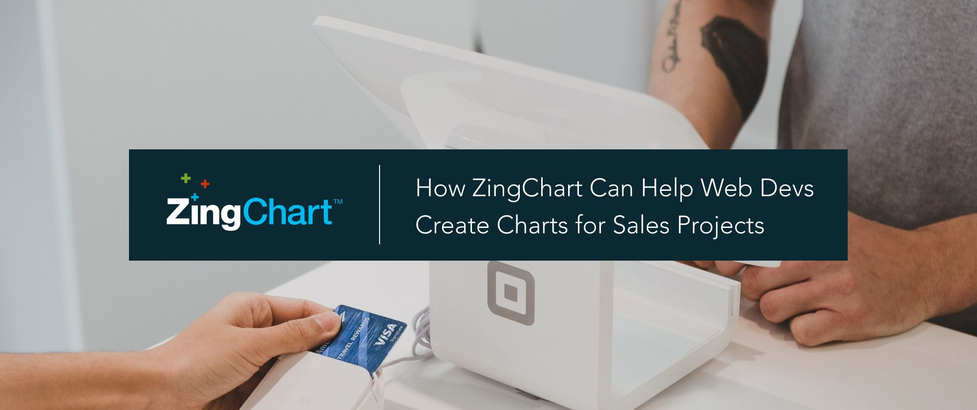 """Cover image for """"How ZingChart Can Help Web Devs Create Charts for Sales Apps"""" blog post"""