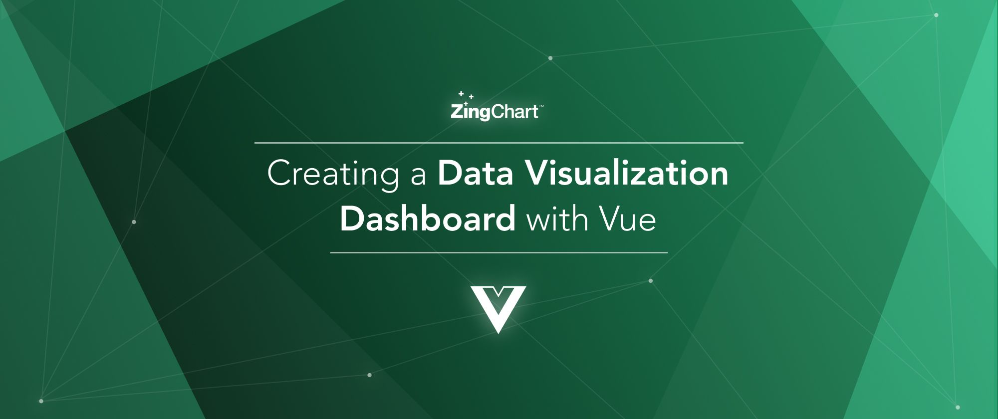 """Cover image for """"Creating a Data Visualization Dashboard withVue"""" blog post"""